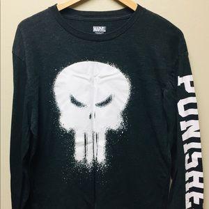 Men's Marvel Punisher long sleeve shirt